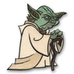 Star Wars Glaring Yoda Patch