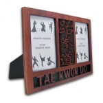 Taekwondo Double Picture Frame