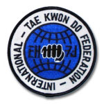 Taekwondo Federation Patch
