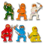 Vending Machine Ninja Toys