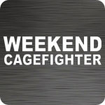 Weekend Cagefighter Vinyl Decal