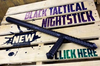 The Black Tactical Nightstick, The Ultimate Security Weapon