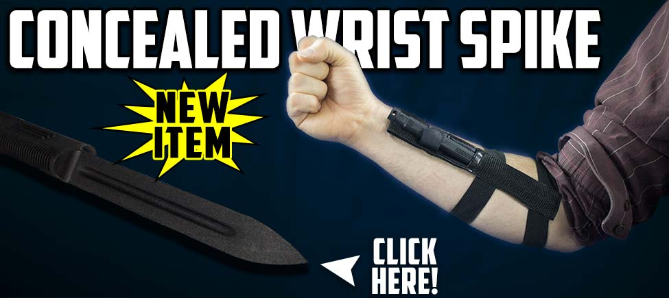 Come Check Out the Concealed Wrist Spike Today!