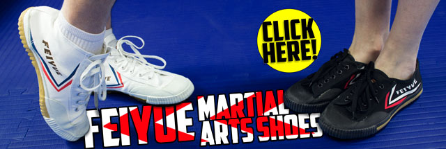 Feiyue Martial Arts Shoes in High Top and Low Top!
