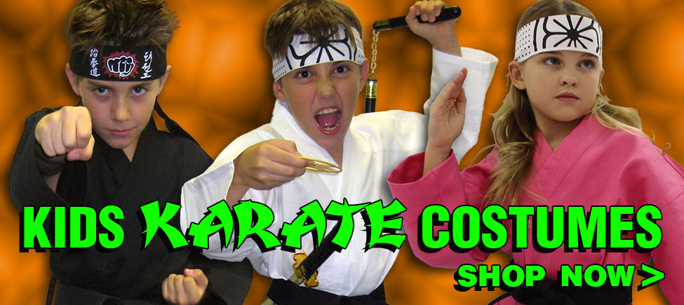 Shop Kids Karate Costumes Now