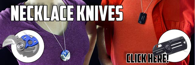These New Hidden Neck Knives Look Sharp!
