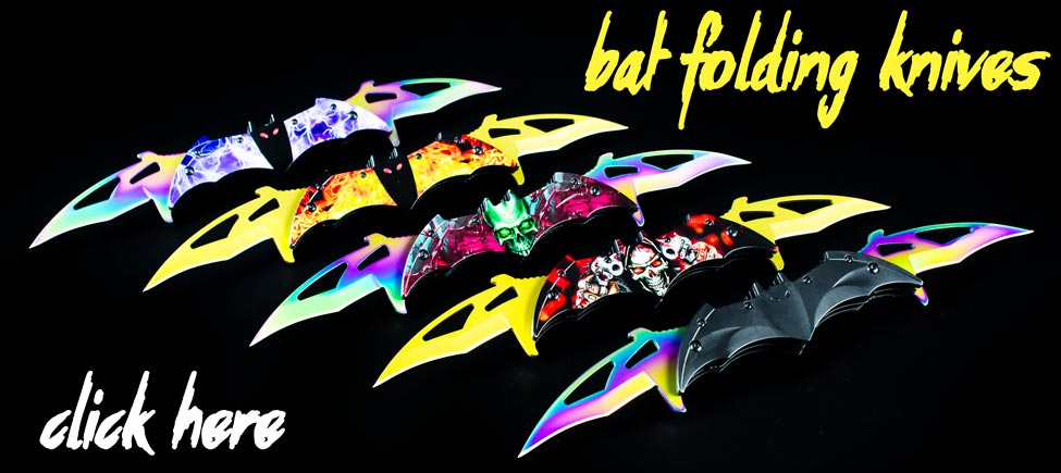 These Folding Knives Will Drive You Batty!