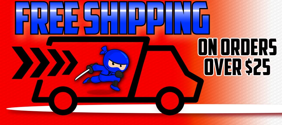 Free shipping on orders over $25