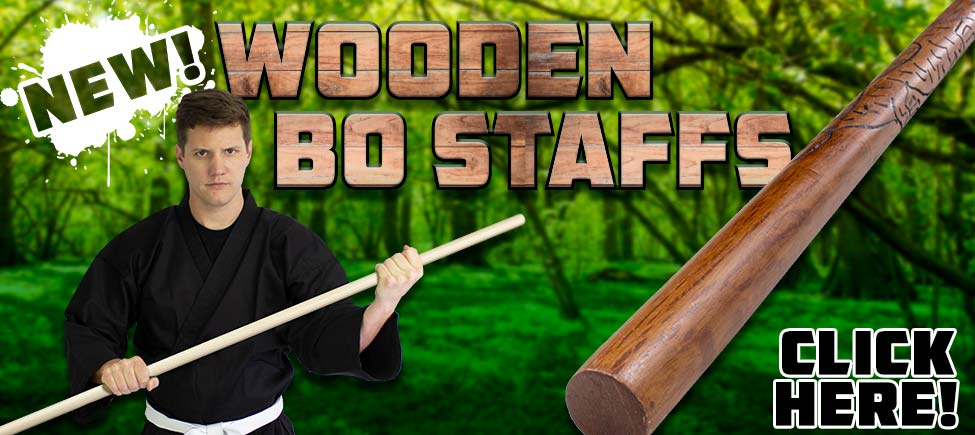 New Premium Wooden Bo Staffs Just Arrived!
