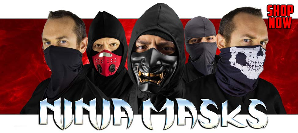 Come See Our New Ninja Masks!