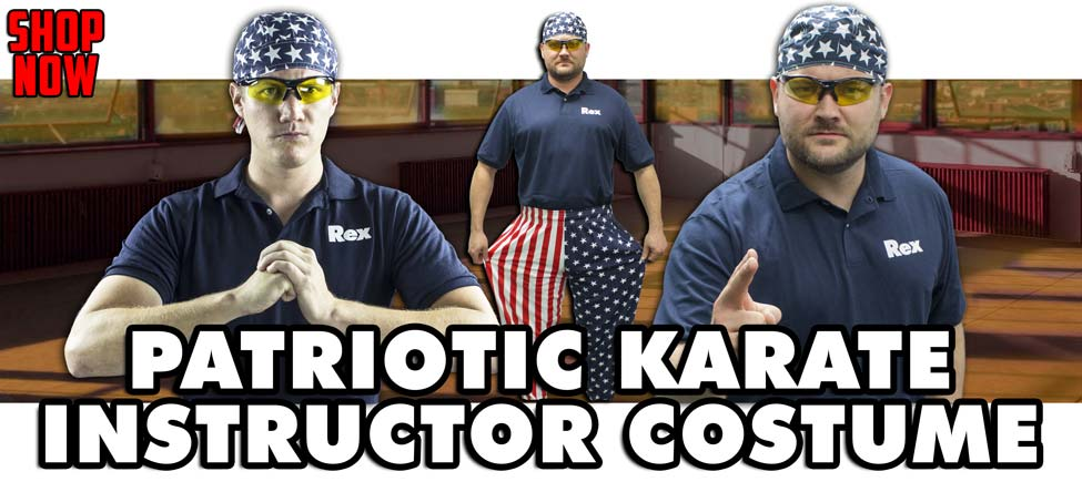 The Patriotic Karate Instructor: Bend the Wrist and Walk Away