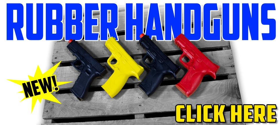 New Rubber Handguns for Disarming Techniques